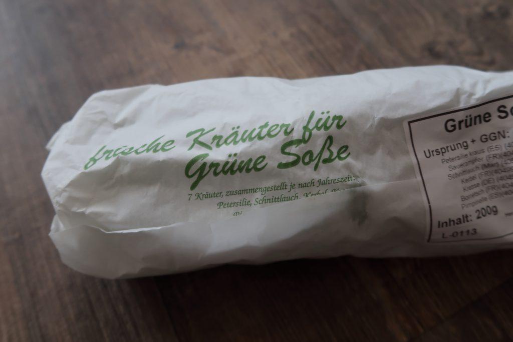 Frankfurt's Famous Flavourful Green Sauce Herbs