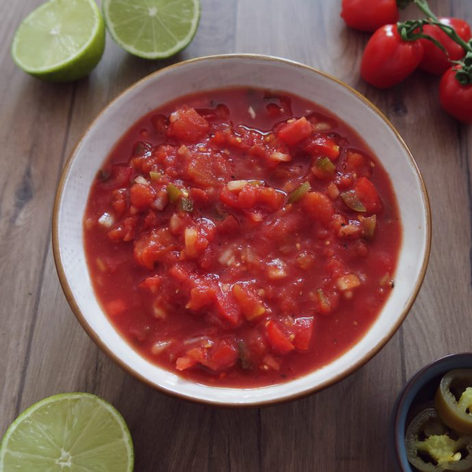 Better Than Store-Bought Easy Salsa Recipe