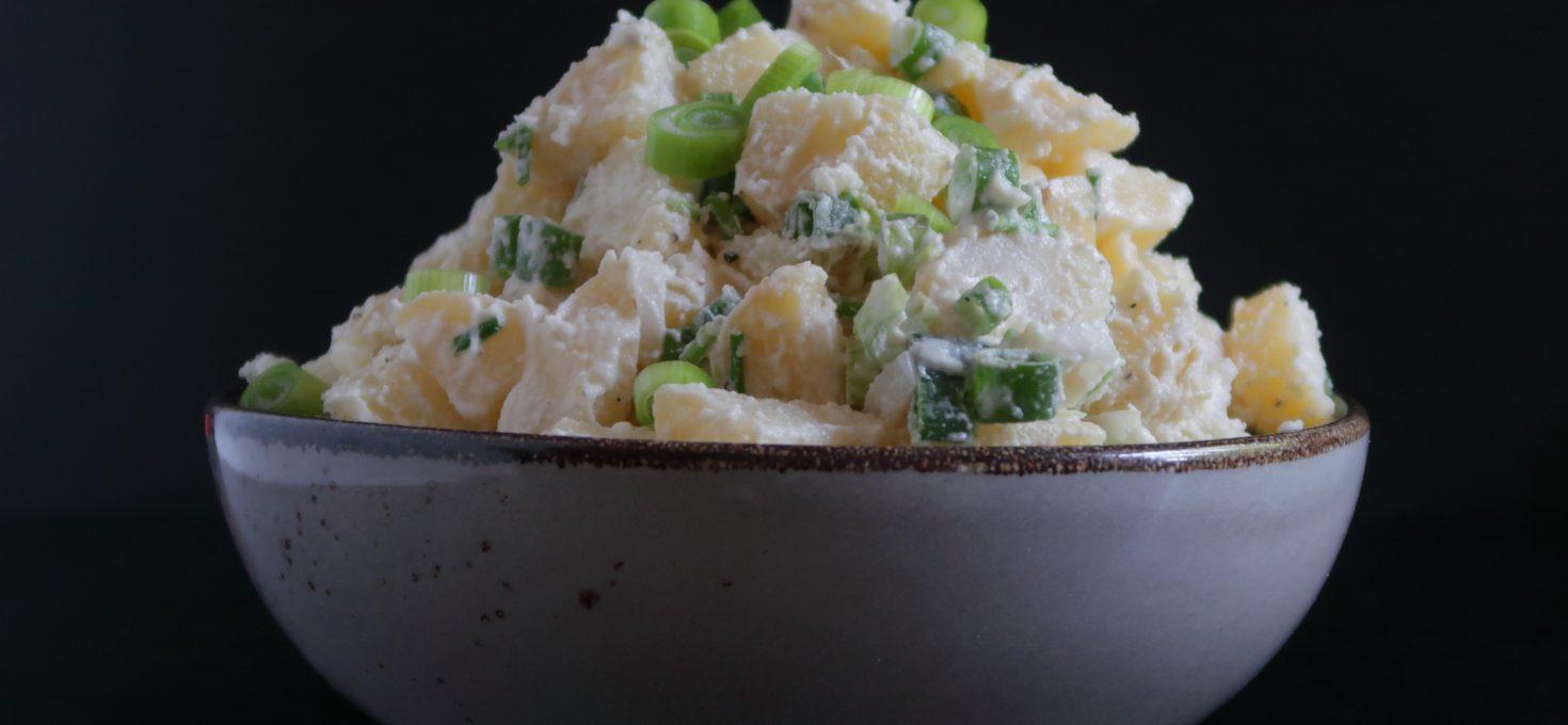 Vegan Potato Salad with Homemade Vegan Mayo