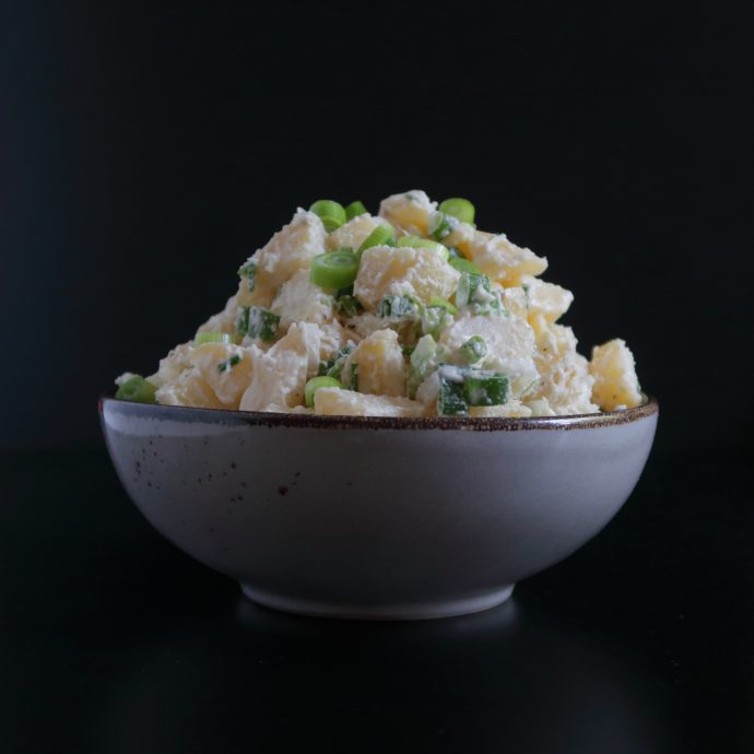 Vegan Potato Salad with Homemade Vegan Mayo