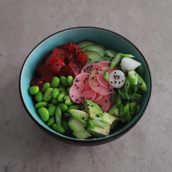 Vegan Tuna Poke Bowl