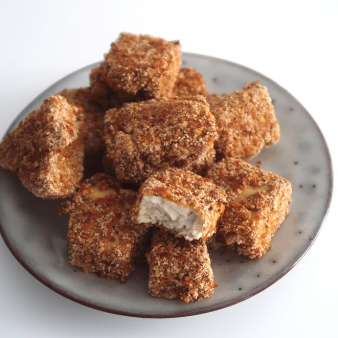 Healthy Vegan Tofu Nuggets (oil-free)