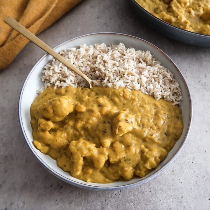 Pumpkin Coconut Curry (vegan, oil-free)