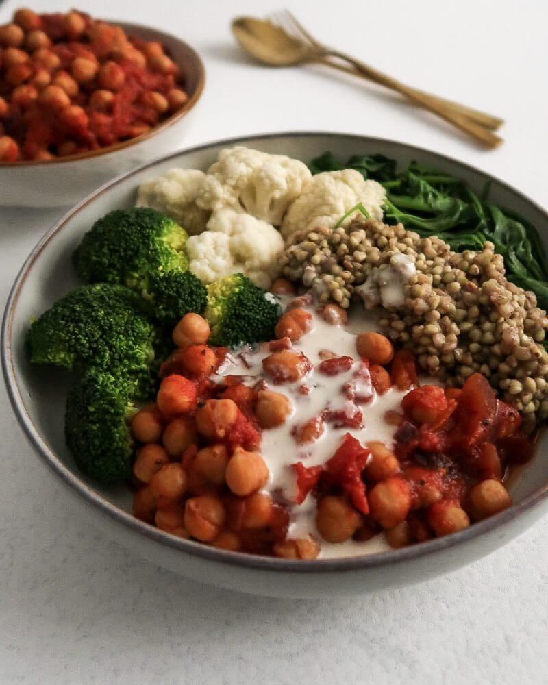 healthy-vegan-chickpea-bowl-fast-recipe