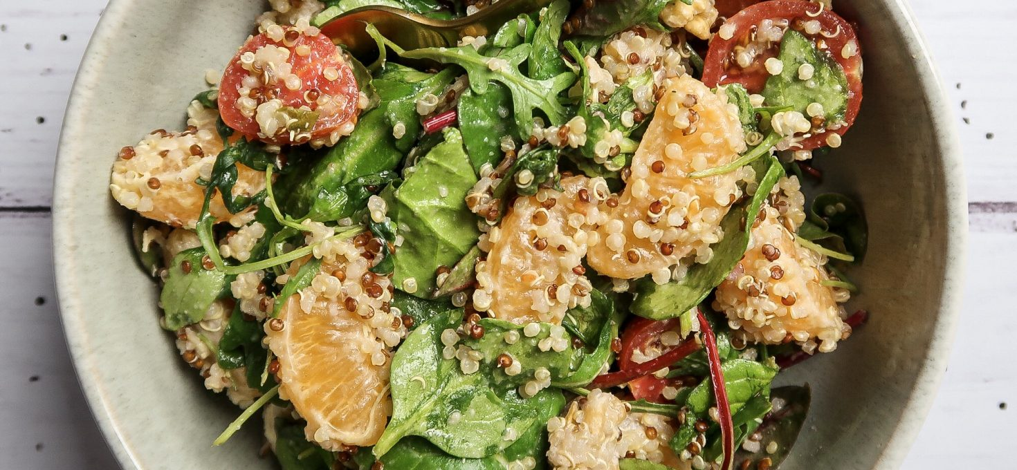 Vegan Citrus Quinoa Salad