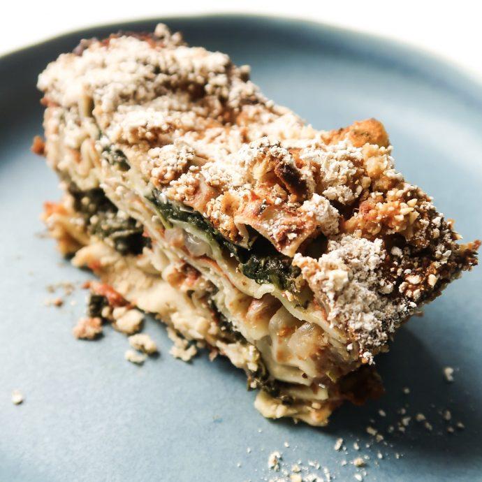 Vegan High-Protein Lasagna