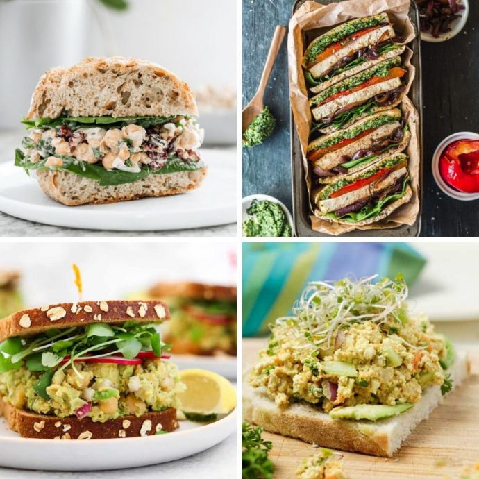 51 Vegan Sandwiches To Pack For Lunch