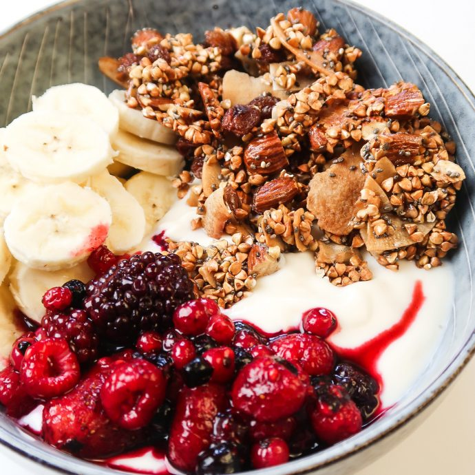 bowl-with-maple-coconut-buckwheat-granola