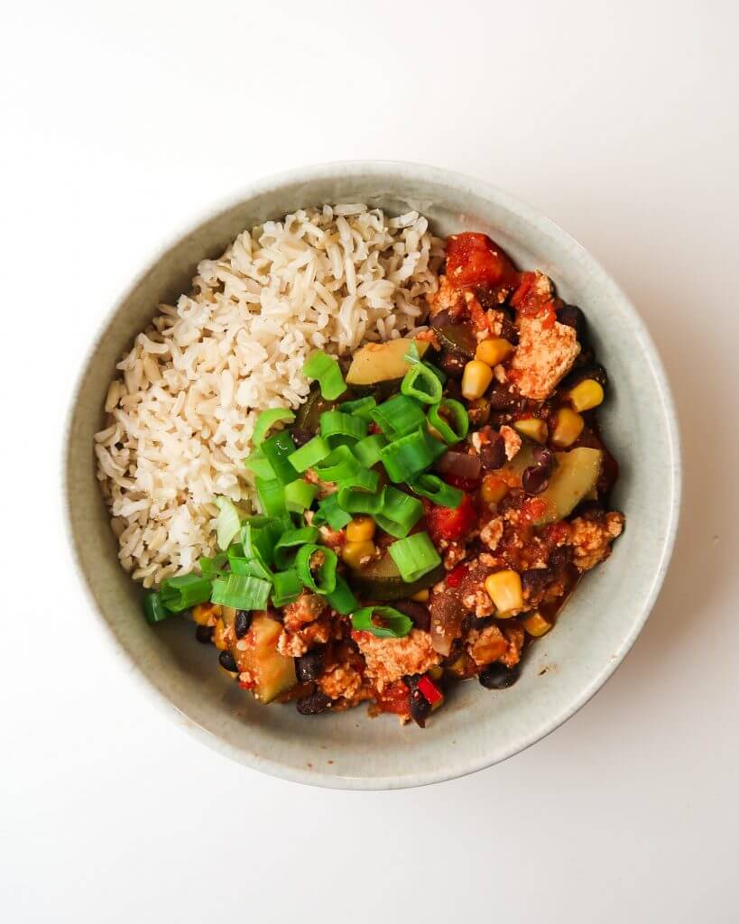 vegan-tofu-black-bean-chili