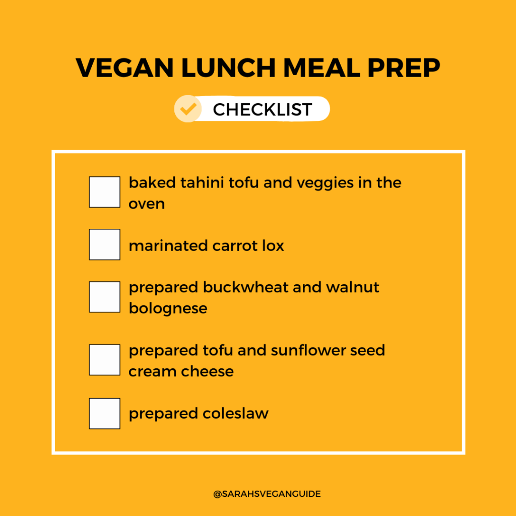vegan-lunch-meal-prep-checklist