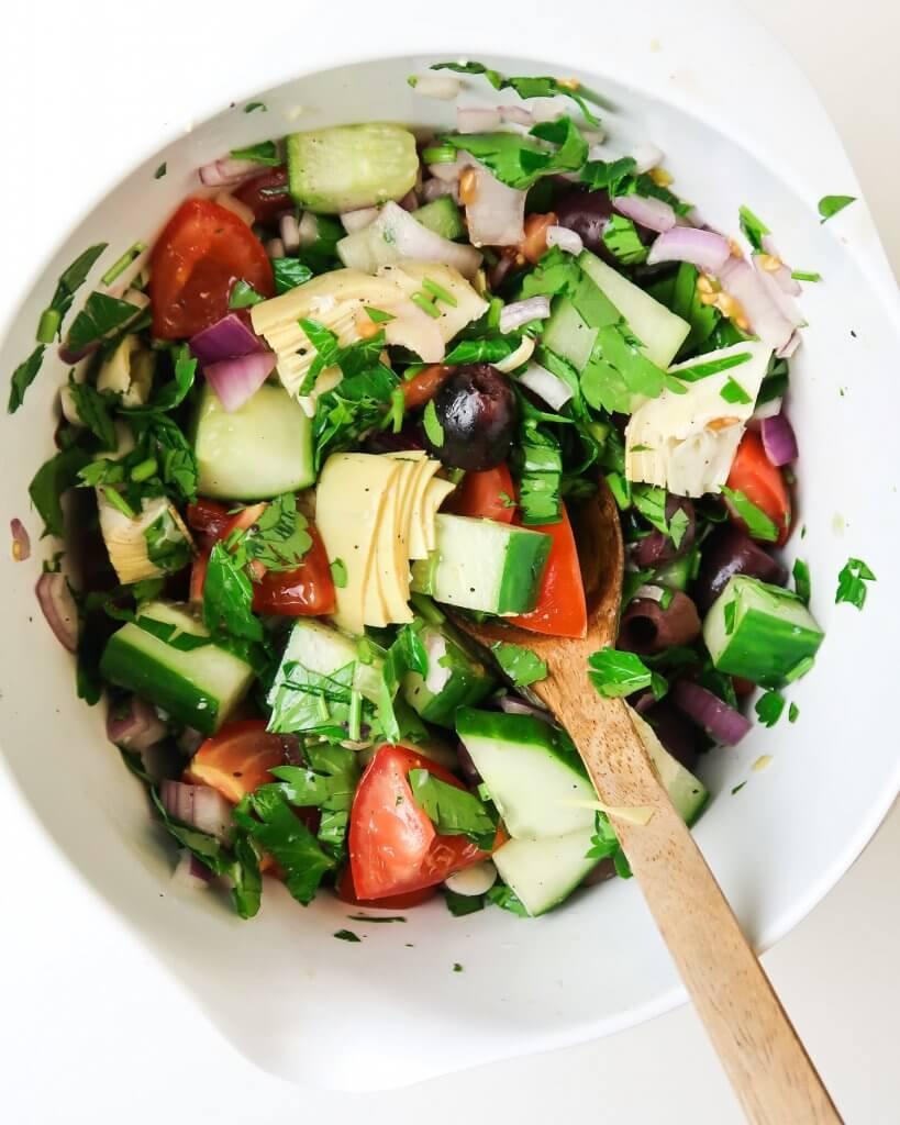 vegan-greek-salad